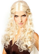 Picture of Platinum Blonde Dragon Queen Wig
