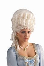 Picture of Platinum Blonde Marie Antoinette Wig
