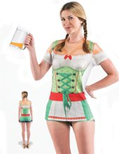 Picture of Oktoberfest Adult Womens T-Shirt Dress