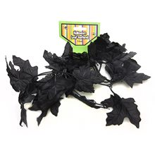Picture of Black Leaf Garland 4ft