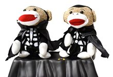 Picture of Halloween Animated Singing Sock Monkeys