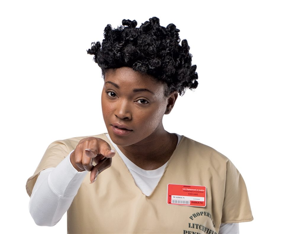 Picture of Womens Prison Crazy Eyes Wig