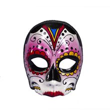 Picture of Day of the Dead Female Mask with Comfort Arms