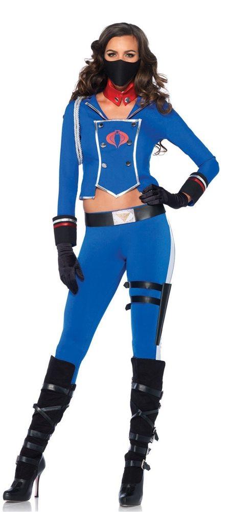 Picture of G.I. Joe Cobra Girl Adult Womens Costume