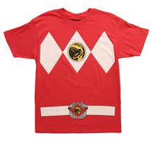 Picture of Power Ranger Adult Mens T-Shirt (More Colors)