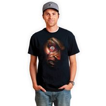 Picture of Pinned Frantically Moving Eyeball Digital Adult T-Shirt