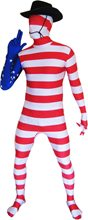 Picture of USA Flag Morphsuit Adult Unisex Costume