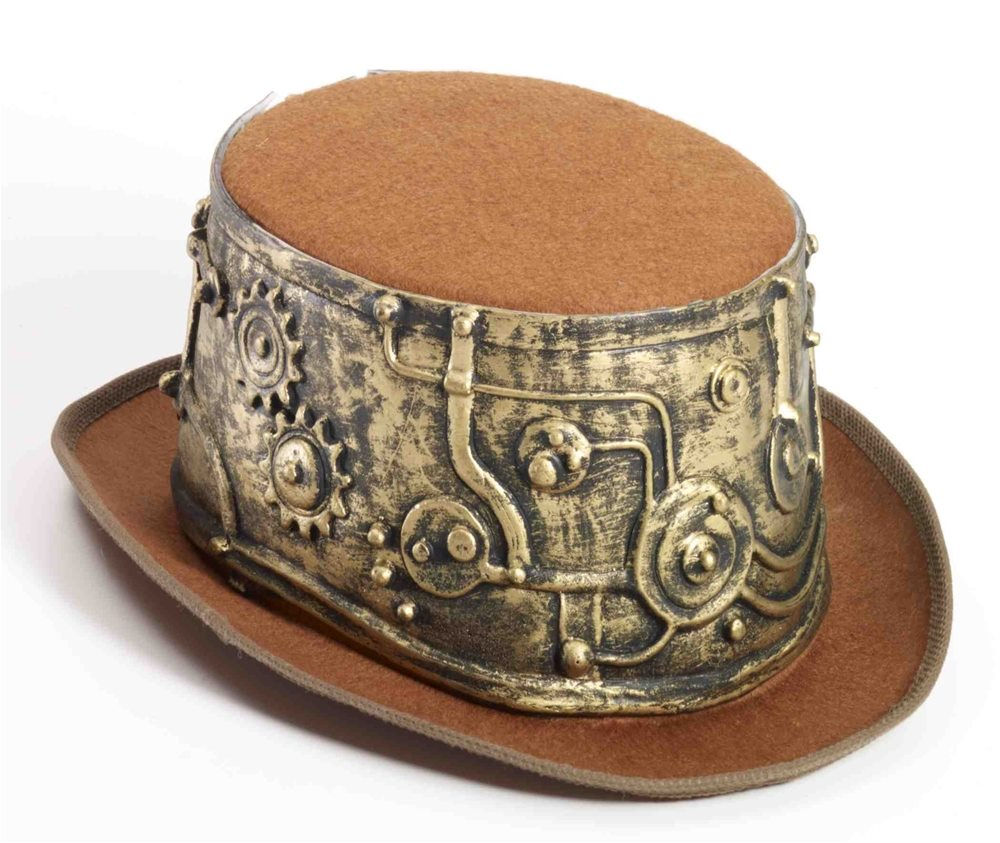Picture of Steampunk Deluxe Top Hat