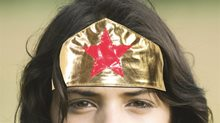 Picture of Gold Superhero Headband