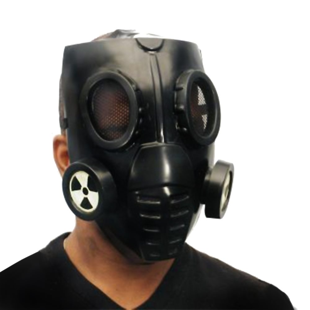 Picture of Futuristic Doomsday Gas Mask