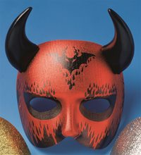 Picture of Devil Mask with Horns