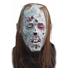 Picture of Decaying Zombie Mask with Hair