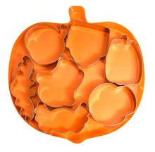 Picture of Pumpkin Cookie Cutter Set 7ct
