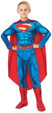 Picture of DC Super Heroes Deluxe Superman Muscle Child Costume