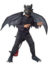 Picture of How to Train Your Dragon Toothless Night Fury Child Costume