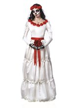 Picture of Day of the Dead Bride Adult Womens Costume