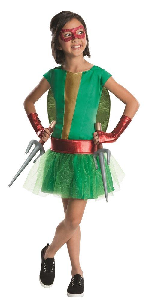 Picture of Teenage Mutant Ninja Turtles Deluxe Raphael Dress Child Costume