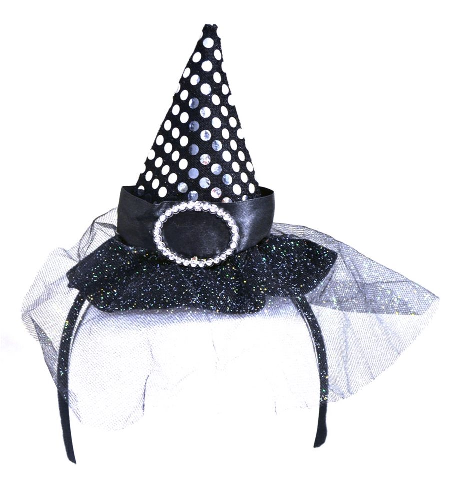 Picture of Witch Hat Headband (More Colors)