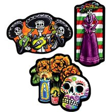Picture of Day of the Dead Cutouts 3ct