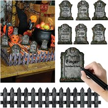 Picture of Graveyard Tabletop Cutout Decorations