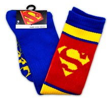 Picture of Superman Red & Blue Knee High Socks