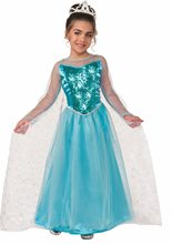 Picture of Snow Queen Princess Krystal Toddler & Child Costume