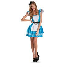 Picture of Alice in Wonderland Glam Adult Womens Costume