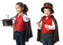Picture of Magician Role Play Costume Set