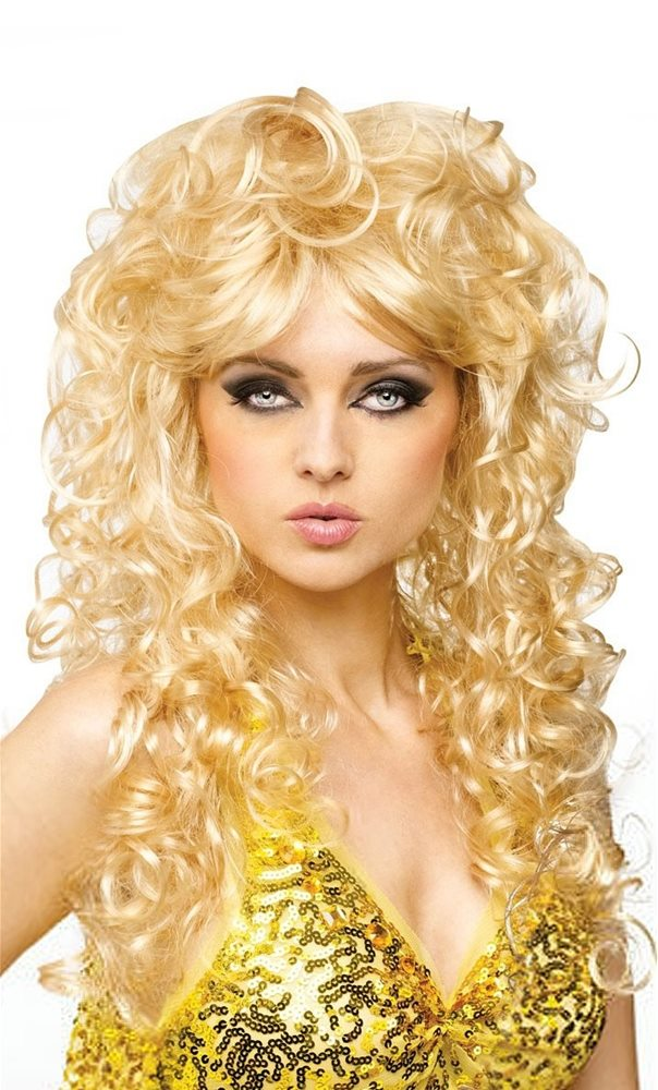 Picture of 70s Seduction Blonde Wig