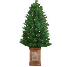 Picture of Lit Porch Christmas Tree 3.5ft (More Styles)