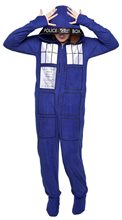 Picture of Doctor Who Tardis Adult Unisex Onesie