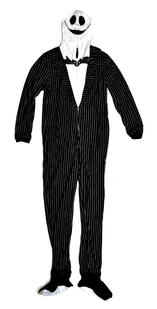 Picture of Jack Skellington Adult Mens Onesie