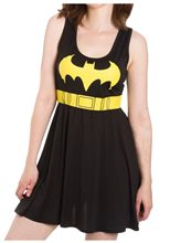 Picture of Batman Logo A-Line Adult Womens Dress
