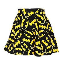 Picture of Batman All Over Logo Juniors Skirt