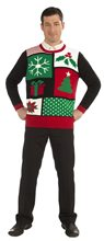 Picture of Jolly Holiday Ugly Christmas Adult Sweater