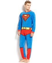 Picture of Superman Adult Onesie