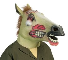 Picture of Zombie Horse Head Mask