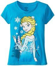 Picture of Disney Frozen Elsa Blue Child T-Shirt