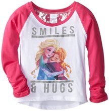 Picture of Disney Frozen Sisters Smiles & Hugs Child T-Shirt