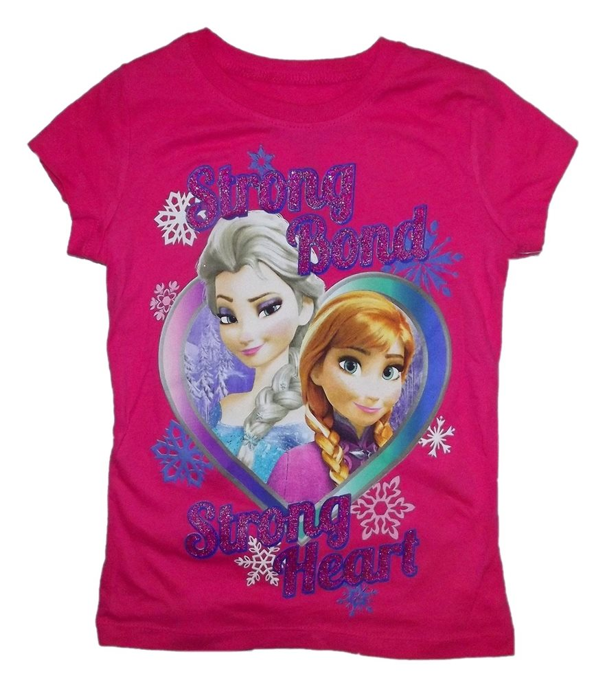Picture of Disney Frozen Sisters Strong Bond Strong Heart Child T-Shirt
