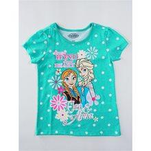 Picture of Disney Frozen Elsa & Anna Aqua Child T-Shirt