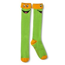 Picture of Teenage Mutant Ninja Turtles Knee High Socks with Mask (More Colors)