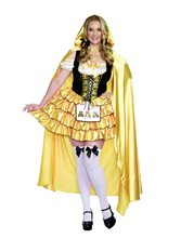Picture of Sassy Goldilocks Adult Womens Plus Size Costume