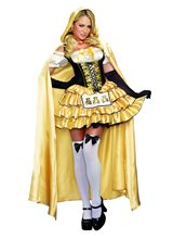 Picture of Sassy Goldilocks Adult Womens Costume