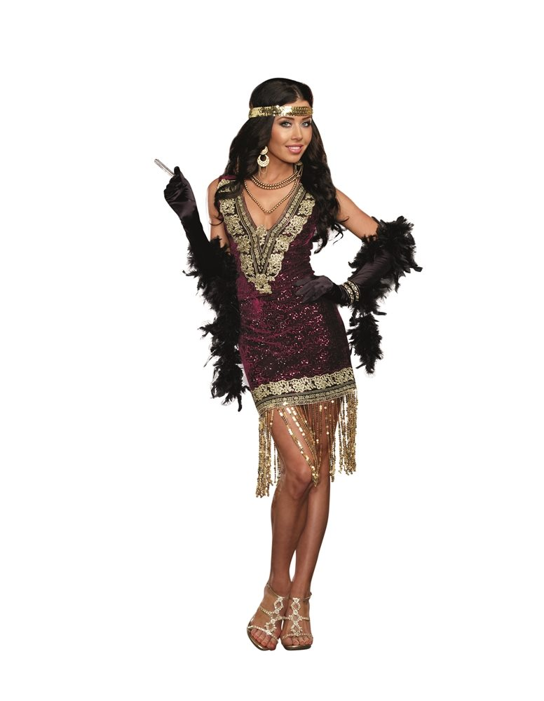 Picture of 1920s Sophisticated Flapper Adult Womens Costume