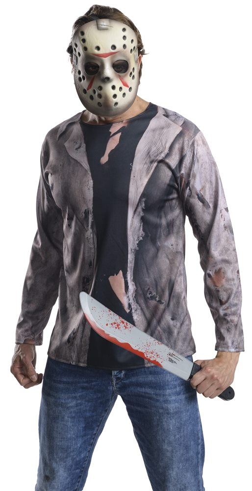 Picture of Friday the 13th Jason Adult Costume Kit