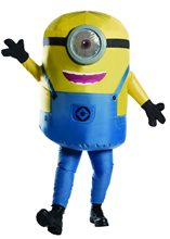 Picture of Stuart the Minion Inflatable Adult Mens Costume