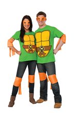 Picture of TMNT Michelangelo Adult Costume Kit