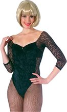 Picture of V-Neck Panne Leotard