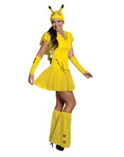 Picture of Pikachu Dress Adult Womens Costume